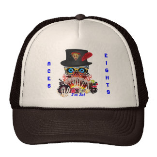 Vegas Party Any Event Aces and Eights View Notes Trucker Hat