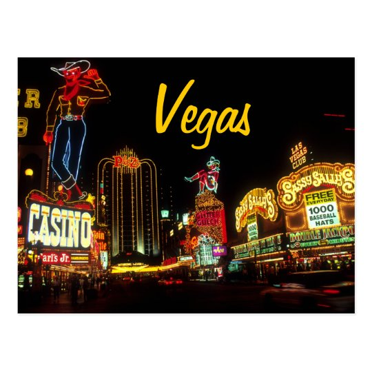 Vegas post card