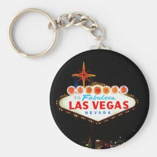 Vegas Sign Lit Up Key Ring