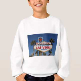 Vegas sign sweatshirt