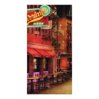 Vegas - The Pizza Joint Personalized Photo Card