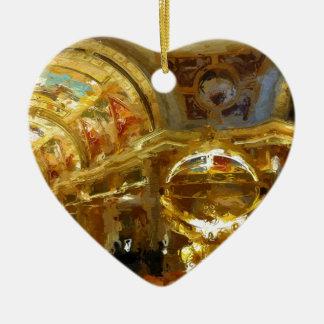 Vegas Venetian Foyer Ceramic Heart Decoration