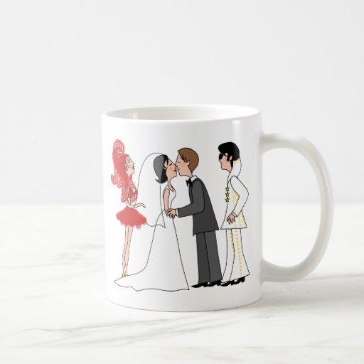 Vegas Wedding Coffee Mugs