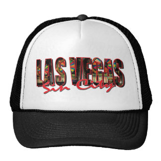 VEGAS WORD and Sin City Cap