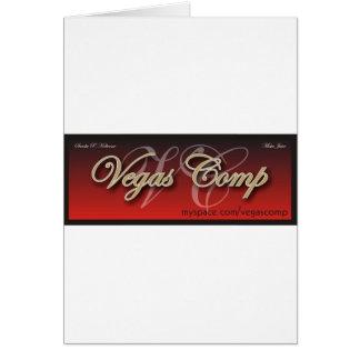 vegascomp greeting card