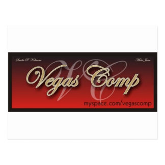 vegascomp postcard