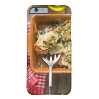 Vegetable bake with potatoes, tomatoes, leeks barely there iPhone 6 case