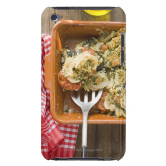 Vegetable bake with potatoes, tomatoes, leeks barely there iPod covers