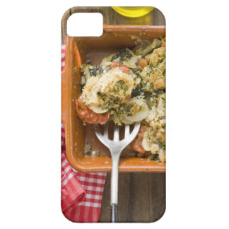 Vegetable bake with potatoes, tomatoes, leeks iPhone 5 cover