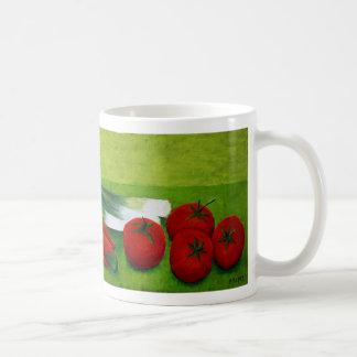 Vegetable Basic White Mug