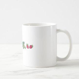 VEGETABLE BORDER COFFEE MUG