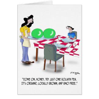 Vegetable Cartoon 9269 Greeting Card