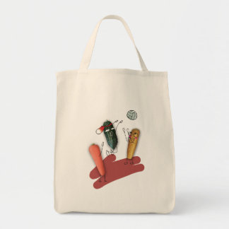 Vegetable character Tote