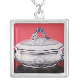 Vegetable dish belonging to Carl Linnaeus Silver Plated Necklace