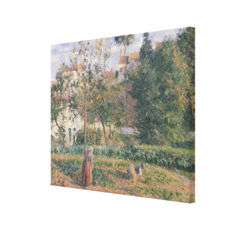 Vegetable Garden at the Hermitage Canvas Print