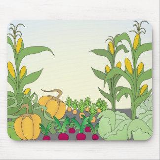 Vegetable Garden Mouse Mat