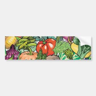Vegetable Gardener Car Bumper Sticker