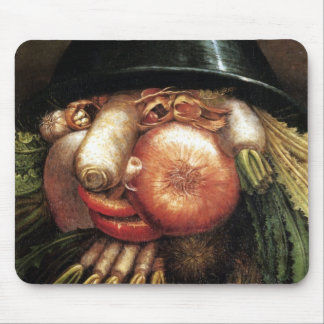 Vegetable Head Mouse Mat