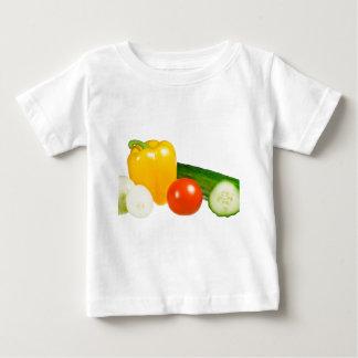 Vegetable isolated tee shirts