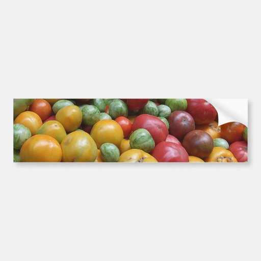 Vegetable Pile Bumper Stickers
