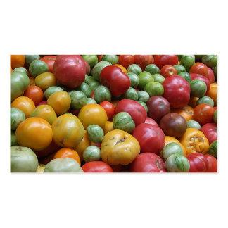 Vegetable Pile Pack Of Standard Business Cards