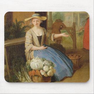 Vegetable Seller, Covent Garden, c.1726 (oil on pa Mouse Mat