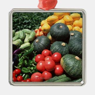 Vegetables 2 christmas ornament