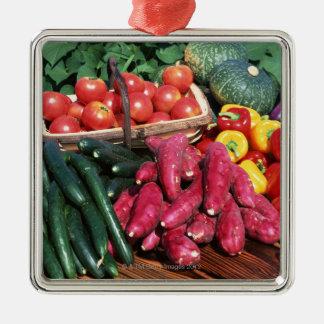 Vegetables 3 christmas ornament
