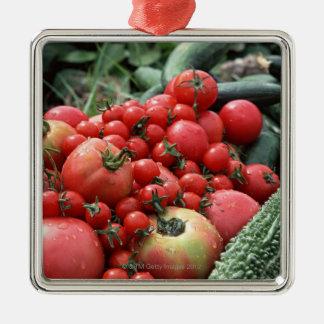 Vegetables 4 christmas ornament