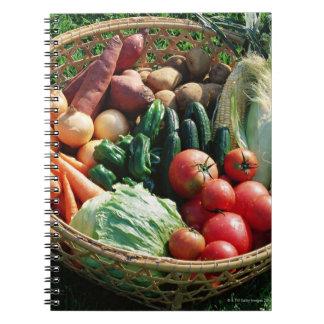 Vegetables 5 notebooks