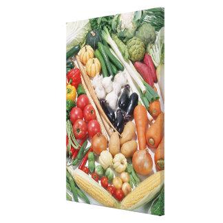 Vegetables 6 canvas print