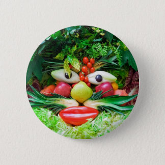 Vegetables 6 Cm Round Badge
