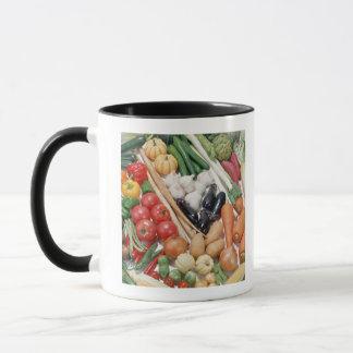Vegetables 6 mug