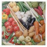 Vegetables 6 tile