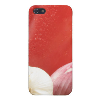 Vegetables and pasta iPhone 5/5S cases
