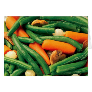 VEGETABLES CARD