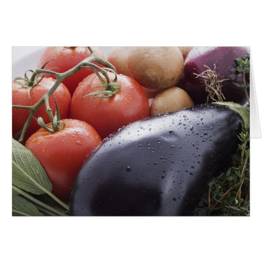 Vegetables for Italian Cooking Card