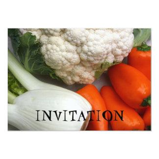 Vegetables  INVITATION