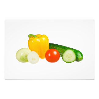 Vegetables isolated photograph