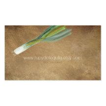 Vegetables Pack Of Standard Business Cards