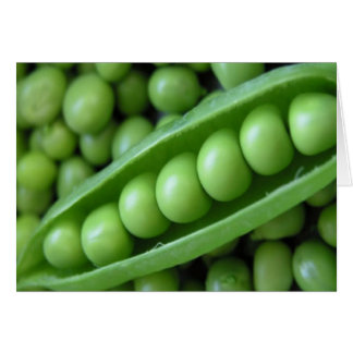 VEGETABLES PEAS CARD