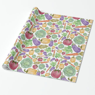 Vegetables! Wrapping Paper