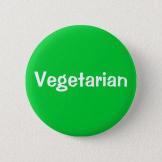 Vegetarian 6 Cm Round Badge
