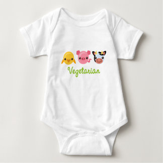 Vegetarian Baby Bodysuit