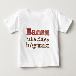 Vegetarian Bacon Baby T-Shirt