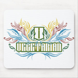 Vegetarian Colors Mouse Pad