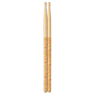 Vegetarian cooking pattern background drumsticks