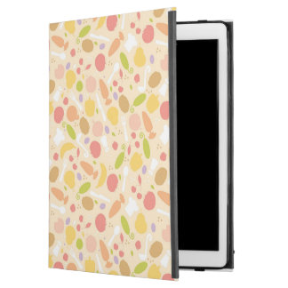 "Vegetarian cooking pattern background iPad pro 12.9"" case"