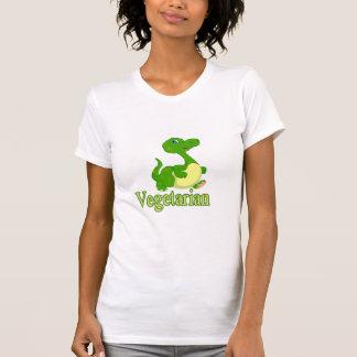 Vegetarian cute dino t-shirt