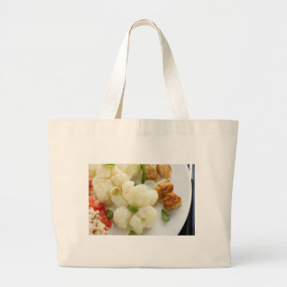 Vegetarian Eating Cloth Shopping Bag